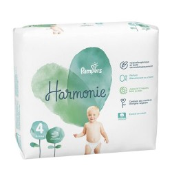 28 Couches Pampers Harmonie taille 4