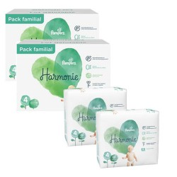 252 Couches Pampers Harmonie taille 4