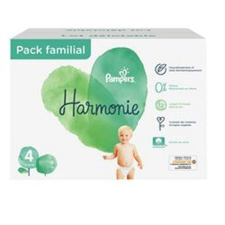 280 Couches Pampers Harmonie taille 4