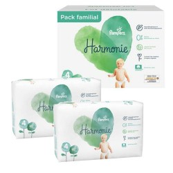 308 Couches Pampers Harmonie taille 4