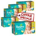 312 Couches Pampers Baby Dry taille 6 sur Sos Couches