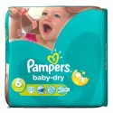 22 Couches Pampers Baby Dry taille 6 sur Sos Couches