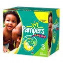 300 Couches Pampers Baby Dry taille 3 sur Sos Couches