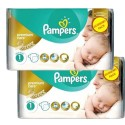 132 Couches Pampers New Baby Premium Care taille 1 sur Sos Couches