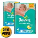 39 Couches Pampers Active Baby Dry taille 4 sur Sos Couches