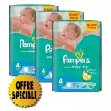 169 Couches Pampers Active Baby Dry taille 4 sur Sos Couches