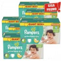 273 Couches Pampers Active Baby Dry taille 4 sur Sos Couches