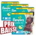 494 Couches Pampers Active Baby Dry taille 4 sur Sos Couches