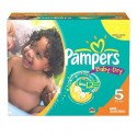 360 Couches Pampers Baby Dry taille 5 sur Sos Couches