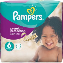 64 Couches Pampers Active Fit taille 6