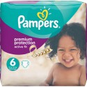 64 Couches Pampers Active Fit taille 6 sur Sos Couches