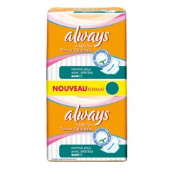 144 Serviettes hygiéniques Always Simply Fits taille normal plus