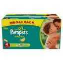 360 Couches Pampers Baby Dry taille 4 sur Sos Couches