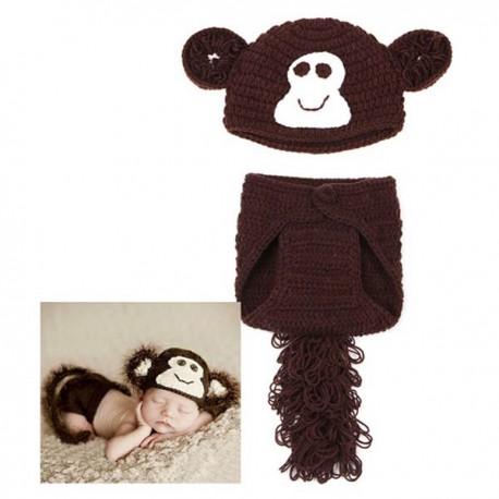 Premier ensemble nouveaux nés Choupinet Monkey sur Sos Couches
