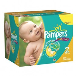 58 Couches Pampers New Baby Dry taille 2