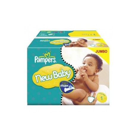 648 Couches Pampers New Baby Premium Protection taille 1 sur Sos Couches
