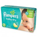 363 Couches Pampers Baby Dry taille 2 sur Sos Couches