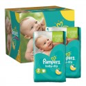 561 Couches Pampers Baby Dry taille 2 sur Sos Couches