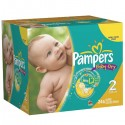 627 Couches Pampers Baby Dry taille 2 sur Sos Couches