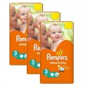 738 Couches Pampers Sleep & Play taille 3 sur Sos Couches