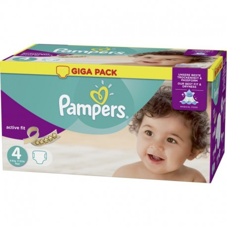 160 Couches Pampers Active Fit Pants taille 4 sur Sos Couches