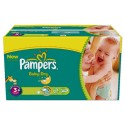 476 Couches Pampers Baby Dry 3+ sur Sos Couches