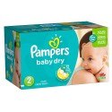 396 Couches Pampers Baby Dry 2 sur Sos Couches