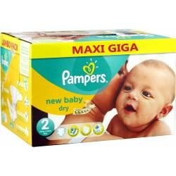 320 Couches Pampers de la gamme New Baby de taille 2 sur Sos Couches
