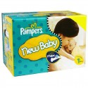 324 Couches Pampers New Baby Dry taille 1 sur Sos Couches