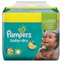 43 Couches Pampers Baby Dry taille 5+ sur Sos Couches