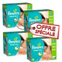 920 Couches Pampers Baby Dry 4 sur Sos Couches