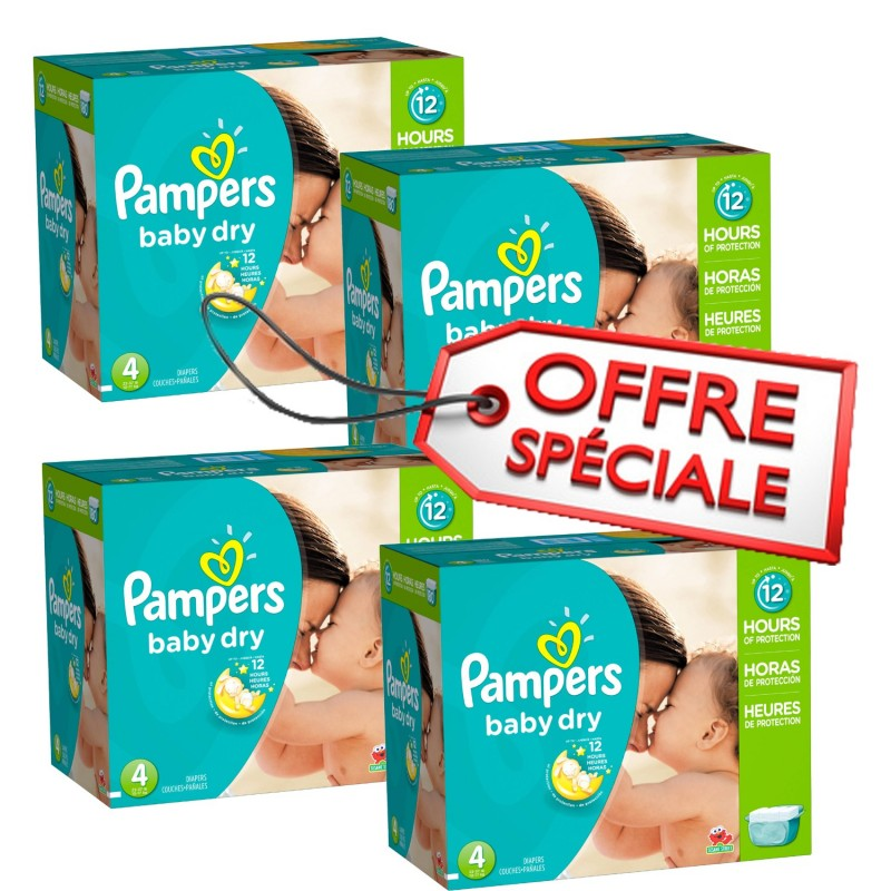 Achat 920 couches pampers baby dry taille 4 moins cher sur sos couches - Couches pampers baby dry ...