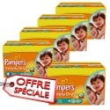 880 Couches Pampers Simply Dry 4+ sur Sos Couches