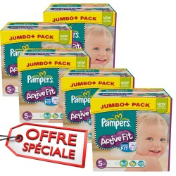 736 Couches Pampers Active Fit taille 5