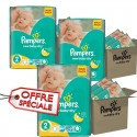 952 Couches Pampers New Baby Dry taille 2 sur Sos Couches