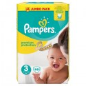 66 Couches Pampers Premium Protection taille 3 sur Sos Couches