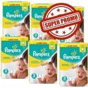 594 Couches Pampers Premium Protection taille 3 sur Sos Couches
