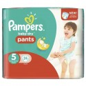 24 Couches Pampers Baby Dry Pants taille 5 sur Sos Couches