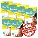 435 Couches Pampers Premium Protection taille 3 sur Sos Couches