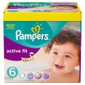 124 Couches Pampers Active Fit taille 6 sur Sos Couches