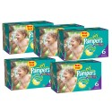 304 Couches Pampers Baby Dry taille 6+ sur Sos Couches