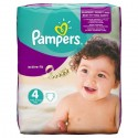 32 Couches Pampers Active Fit taille 4 sur Sos Couches