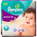68 Couches Pampers Active Fit taille 4 sur Sos Couches