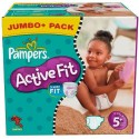 180 Couches Pampers Active Fit taille 5+ sur Sos Couches