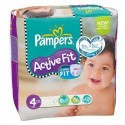 46 Couches Pampers Active Fit taille 4 sur Sos Couches