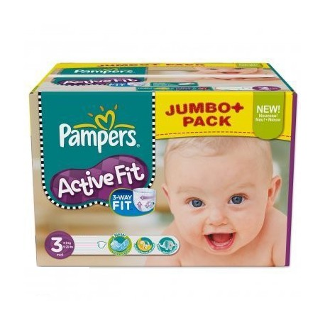 Achat 360 couches pampers active fit taille 3 moins cher sur sos couches - Couches pampers taille 3 ...