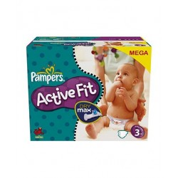 360 Couches Pampers Active Fit 3