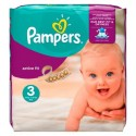 62 Couches Pampers Active Fit taille 3 sur Sos Couches