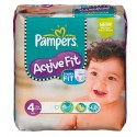 54 Couches Pampers Active Fit taille 4 sur Sos Couches