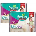 136 Couches Pampers Active Fit Pants taille 5 sur Sos Couches